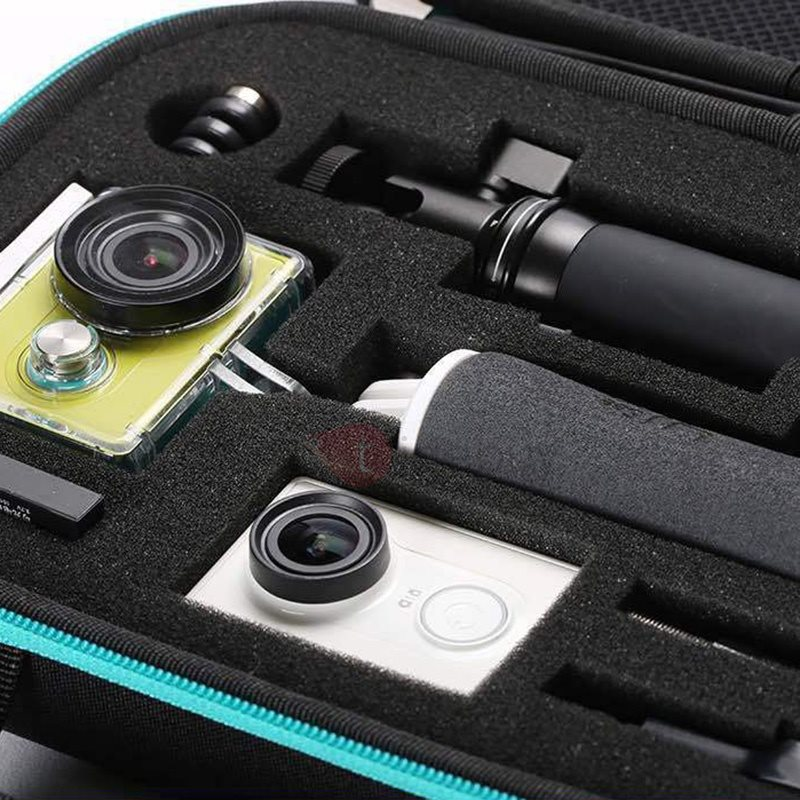 Portable Waterproof Anti-Knock Action Camera Case Box for XiaoYi GoPro Hero 4
