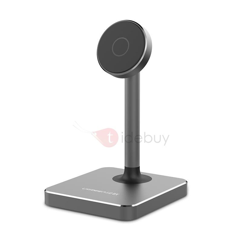 Aluminium Alloy Phone Holder Universal 360 Rotation Magnetic Phone Mount for iPhone 7 /6 plus Android Smartphones & Mini Tablets