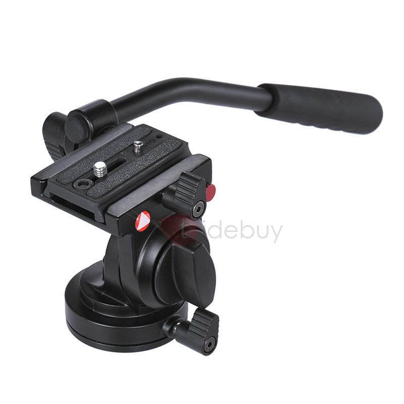 Professional Camera Tripod Hydraulic Video Tripods with 60mm Bowl Head