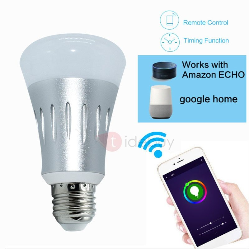 JY-SEL01 Smart Light Colorful Bulb Support Voice-control