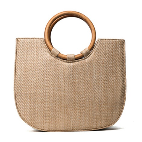 Contracted Grass Knitted Tote Bag