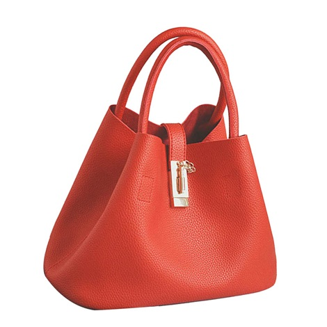 Fashion Colorful Hasp Women Tote Bag